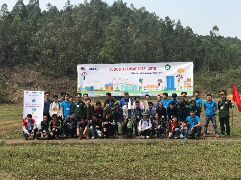 Cuộc thi CanSat 2017 - 2018 kích thích sức sáng tạo của sinh viên trong các ứng dụng công nghệ vệ tinh vào đời sống