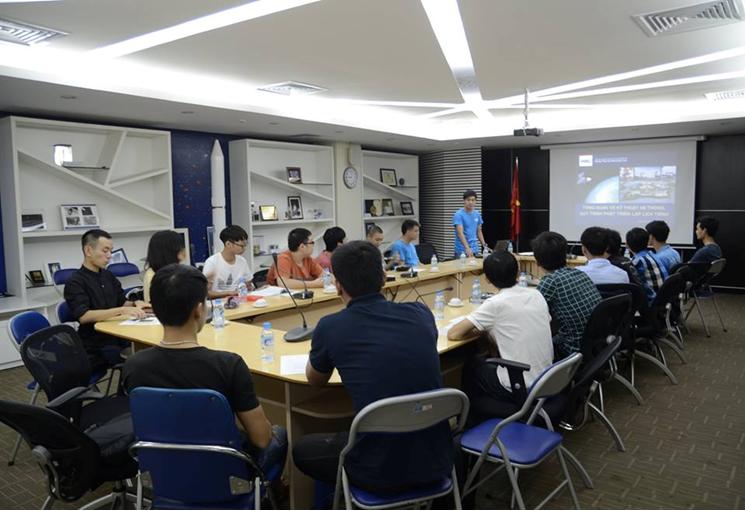 Trung tâm Vệ tinh Quốc gia tổ chức khóa học về Phát triển vệ tinh Cansat
