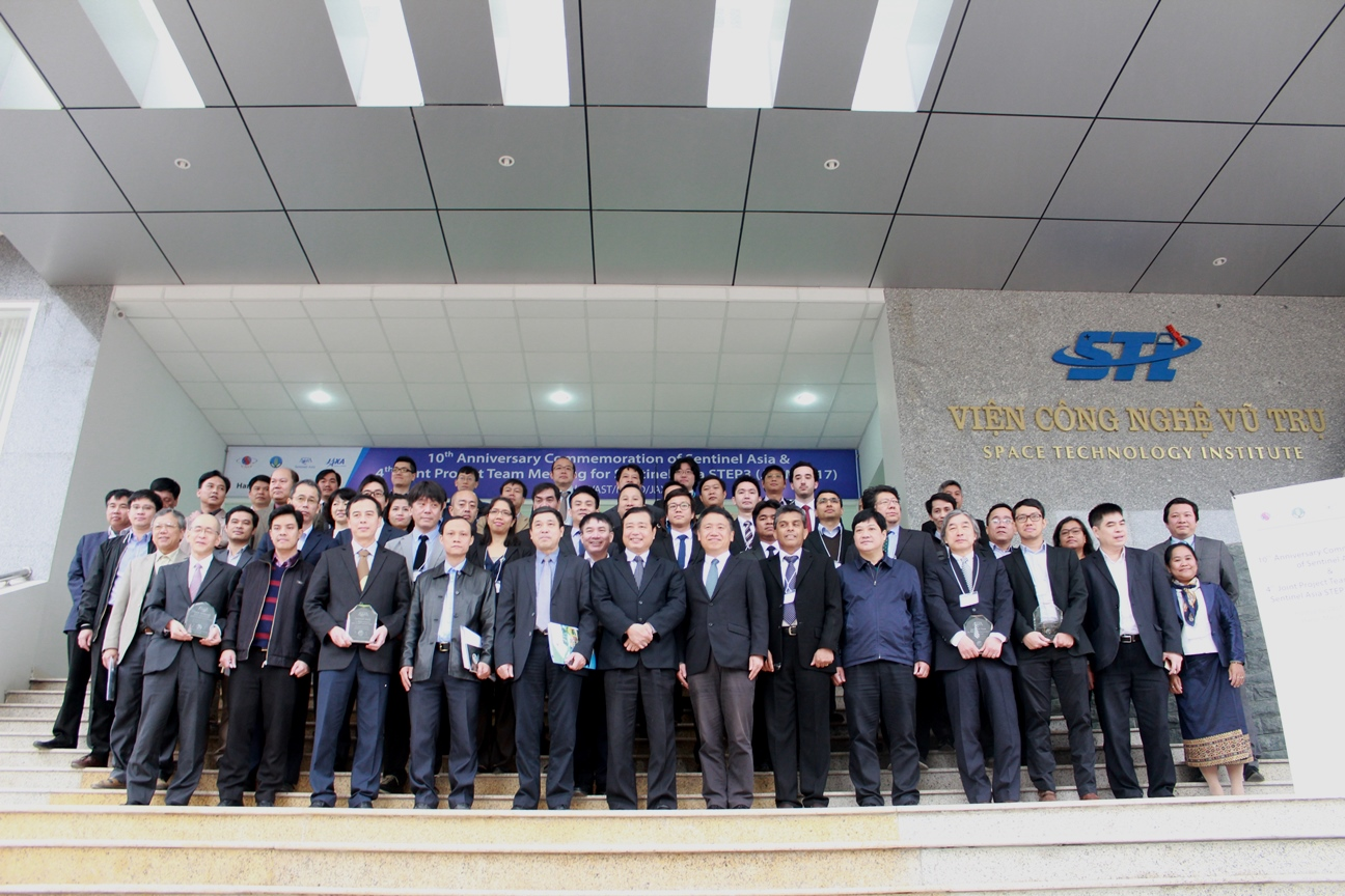 Kỷ niệm 10 năm thành lập Sentinel Asia